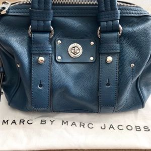 Marc By Marc Jacobs Lil Shifty Leather Satchel Bag